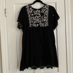 Zara Dress With Embroidery